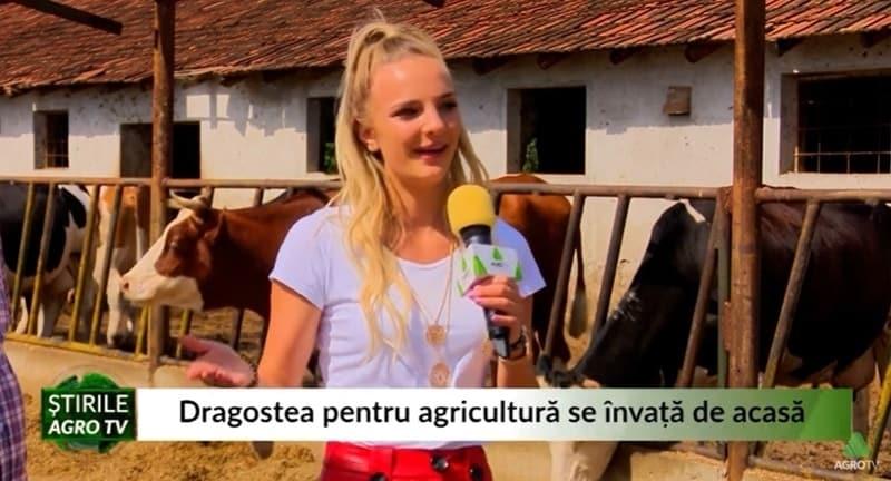 VIDEO Dragostea pentru agricultură se învață de acasă